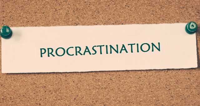 Why do we procrastinate?: Motivation Series I/III